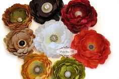 50 Assorted Vintage Button Embellishments