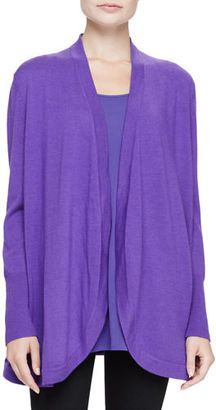 Shop Now - >  https://api.shopstyle.com/action/apiVisitRetailer?id=540432420&pid=uid6996-25233114-59 Eileen Fisher Merino Jersey Long Cardigan, Plus Size  ...