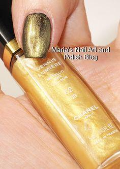 Chanel 62 OR Chanel Nail Polish, Chanel Nails, Nail Art, Bronze, Or, Swatch, Make Up, Fashion Art, Beauty