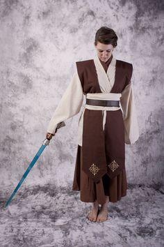Female Jedi costume. I think I'll make it myself.