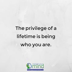 Be who you are. It's a privilege  . . . . #love #life #success #happy #quote #find #psychology #science #happiness #education #stress #anxiety #health #depression #mindfulness #mentalhealth #tips #manageyourmind #lawofattraction #selfgrowth #personalgrowth #acceptance #journaling #reflection #quotes #Inspiration #motivation #coach #psychology #therapist #qotd