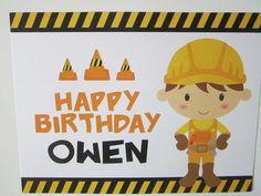 Owen Turns Three! | CatchMyParty.com