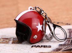 Porte clé Casque Rétro #accessoire #retro #casque #moto