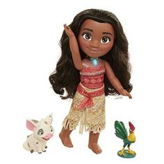 Disney Singing Moana and Friend Doll Set #NA
