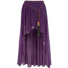 River Island Purple belted dip hem maxi skirt and other apparel, accessories and trends. Browse and shop 46 related looks.