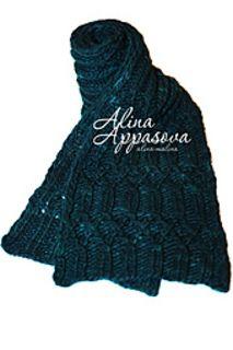 Ravelry: Malachite Scarf pattern by Alina Appasova