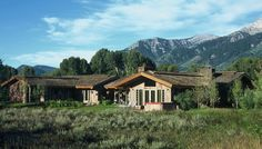 Tom Ward and Mitch Blake; Campbell Residence (New Construction); Jackson, Wyoming, 2002.