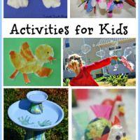 Rainy Day Activities - In Lieu of Preschool