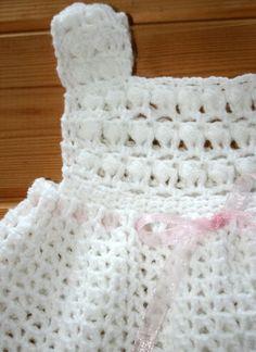 Crochet baby girl dresses 6 to12 months Cute by crochetyknitsnbits, £21.99: