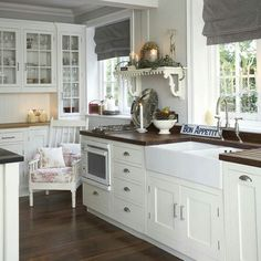 Modern Country Kitchen Design kitchen of the day: traditional shaker kitchen with minimalist