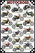 NEW MOTOCROSS MX POSTER DIRTBIKES BIKES MOTORCYCLE RACING OFF-ROAD SPORTS