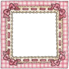 Pink gingham and lace border frame Clipart Baby, Frame Clipart, Scrapbook Frames, Baby Scrapbook, Scrapbook Paper, Scrapbooking, Design Blog, Web Design, Picture Frames