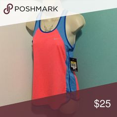 NWT DRI-Fit NIKE NWT WORKOUT TANK small unnoticeable snag Nike Tops Muscle Tees