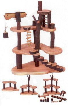 The Giggle Guide™ - Tree Blocks Branch Out for Creative Wooden Toys http://www.catsyards.com/product-category/beds-furniture/activity-trees/
