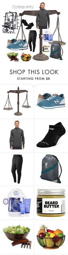 """""""Run the World in New Balance"""" by vettec ❤ liked on Polyvore featuring New Balance Classics, New Balance, Weleda, Detroit Grooming Co., Lipper, men's fashion, menswear and NewBalance"""