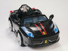 Remote Control Car for your kids. Kid will be the star in your town then play with more friends with proud. Parents can control kid's driving with remote control. http://tnsdeals.com/kid-ride-italy458-black.html