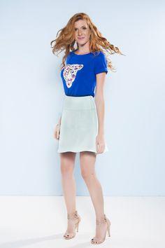 Camiseta Ibiza Azul
