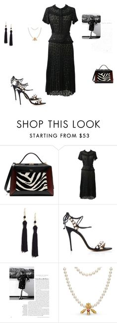 """""""Untitled #7733"""" by explorer-14576312872 ❤ liked on Polyvore featuring Mulberry, Marc Jacobs, Kenneth Jay Lane and Monique Lhuillier"""