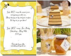 Just BEE-cause Tea Party  {Styling by Giggles Galore, printables by Piggy Bank Parties}