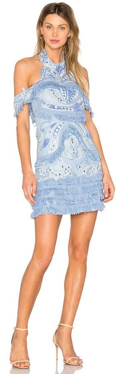 @roressclothes clothing ideas #women fashion blue THURLEY Aphrodite Dress