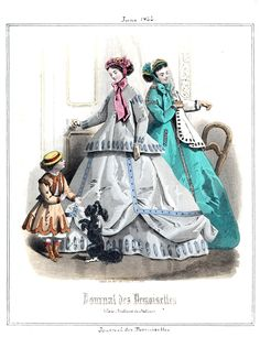 1866 Journal des Demoiselles 6 juin