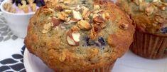 Muffins Bleuets et Granola