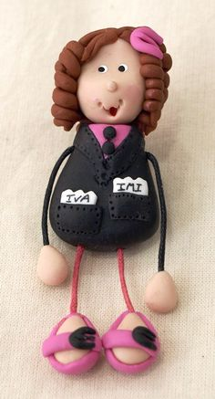 Cold porcelain (Biscuit) by Filomena Monteiro    The accountant