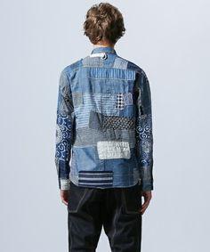 JUNYA WATANABE MAN(ジュンヤワタナベマン)のパッチワークシャツ(シャツ/ブラウス) 詳細画像