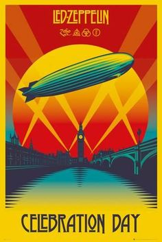Led Zeppelin- Celebration Day Posters sur AllPosters.fr