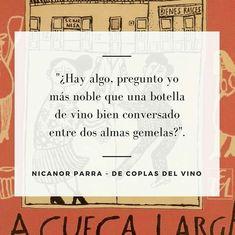 De coplas del vino - Nicanor Parra
