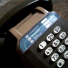 Vintage French 1970's Bakelite Telephone