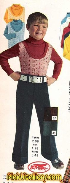 Plaid Stallions : Rambling and Reflections on '70s pop culture: Back to School Shopping Part 2