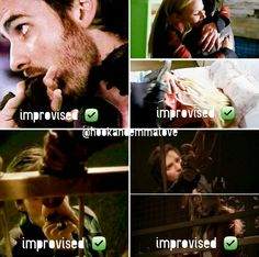Colifer improvisations of captain swan scenes