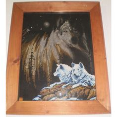Tapestry Wolves Wolf Animal Framed Wall Picture Listing in the Wild Animals,Animals,Collectables Category on eBid United Kingdom | 146063972
