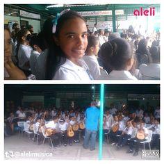 Via Instagram LAEMINENCIAreal Allí vamos hija! Repost via @alelimusica - - - > Esto fué hoy Ensayo general en el coro del #SistemaDeOrquestas donde interpretamos #MoliendoCafe #CaballoViejo #Venezuela e #HimnoALaAlegria entre otras #orquestasinfonica #orquesta #ensayo #musica #tw