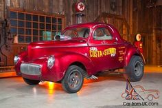 Willys Coupe Gassers | 1941 Willys Gasser Coupe Drag Race Car Hot Rod Other For Sale