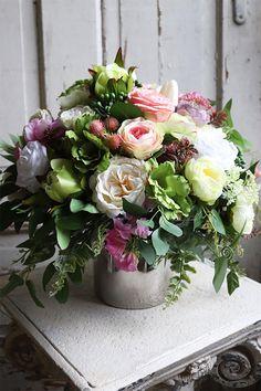 Floral Arrangements, Floral Wreath, Wreaths, Home Decor, Floral Crown, Decoration Home, Door Wreaths, Room Decor, Flower Arrangement