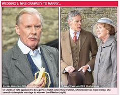 Crawley to Marry. Downton Abbey Season 6, Downton Abbey Cast, Last Tango In Halifax, Penelope Wilton, Tv Times, Movies Showing, Funeral, Favorite Tv Shows, It Cast