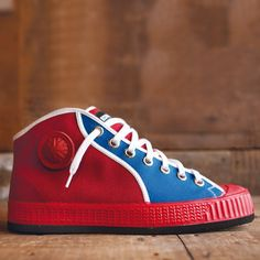 High-Top Belgrado Rot-Blau
