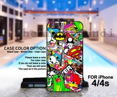 Sticker Bomb Logo - Rubber And Hard Cover For IPhone 4/4S IPhone 5 Case And Samsung Galaxy S3 I9300, on Luulla #bomb logo