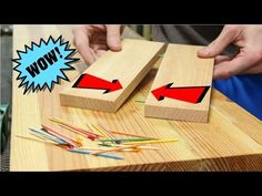 Quick Woodworking Tip: How To Hide A Screw (FS Woodworking) - YouTube