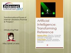 Presentations from the 2012 Internet Librarian conference have been made available online.