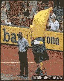 How to do a banana's job…