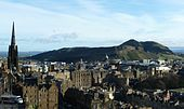 Arthur's Seat in Edinburgh... Gotta climb it for a panoramic view of the city and surrounding areas.