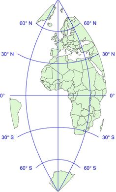 North america and middle america centered globe vector map globe cassimi world mappdf ai files the cassini projection also sometimes known as gumiabroncs Gallery