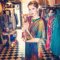 Great dog, great dress, great store!! #cabaretvintage