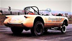 Early '50s Drag Corvette