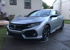So I bought my 2017 Honda Civic hatchback sport touring about two months ago. . . I'm getting to the point where I want to throw some new wheels on it does anyone have any suggestions on what would look good and fit right on this car? I'd love to hear some ideas! #Honda #civic #hondacivic #hondalife #hondalove #car