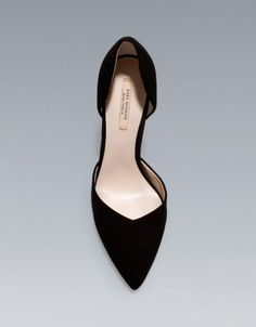 HIGH HEEL VAMP SHOE - Shoes - Woman - New collection - ZARA United States