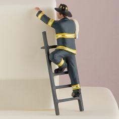 Fireman Cake Topper, Wedding Cake Toppers, Decor - Weddingstar